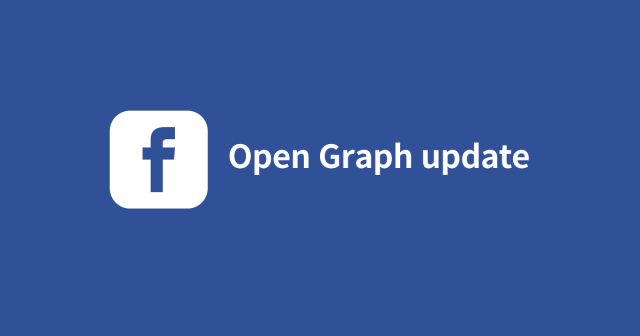 Facebook Open Graph update