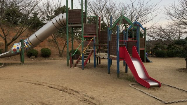 倉敷市街地南部の種松山公園西園地に行ってきました
