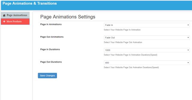 簡単導入! WordPress画面遷移アニメーションプラグイン! Page Animations And Transitions