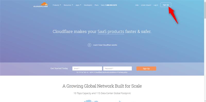 CloudFlareサイト