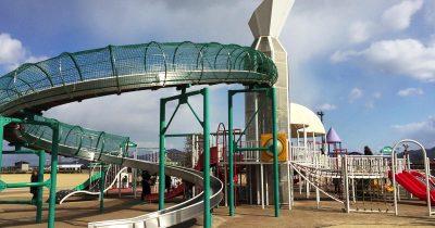 岡山市南区の灘崎町総合公園は小さい子どもから大人まで楽しめるスポットだ!