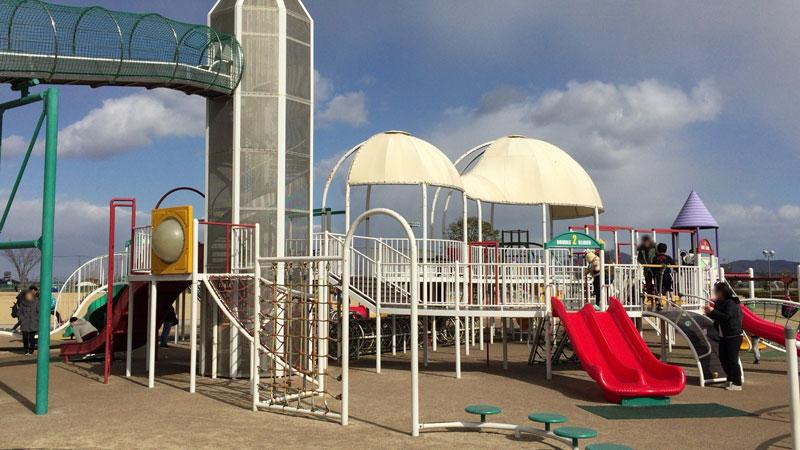 灘崎町総合公園 複合遊具