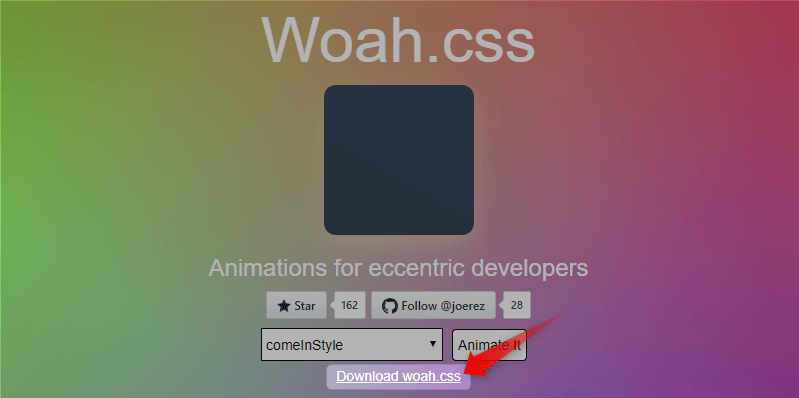 Download Woah.css