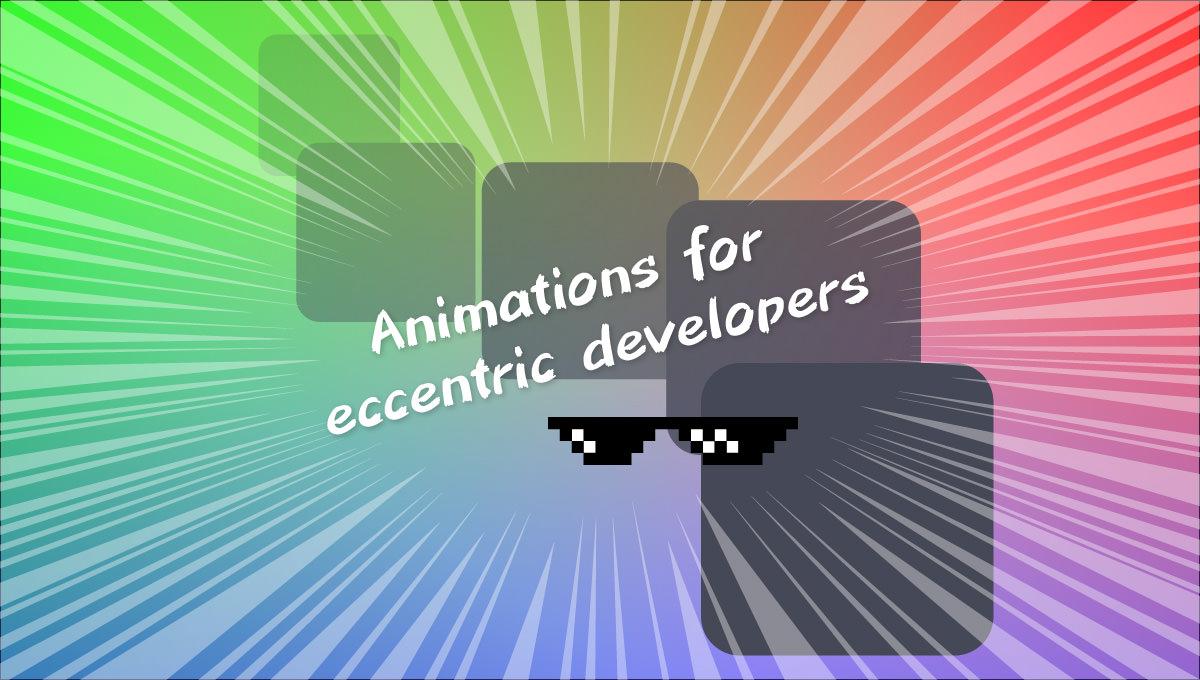 エキセントリックなアニメーションを多数収録したCSSフレームワーク 「Woah.css」