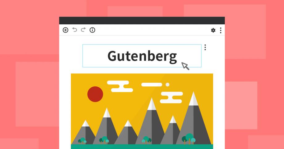 新エディターGutenberg