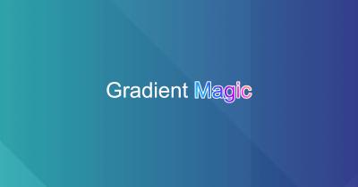 Gradient Magic