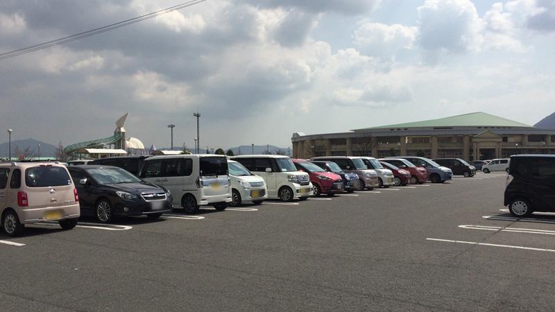 灘崎町総合公園の駐車場