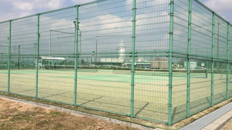 灘崎町総合公園のテニスコート