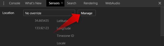 Manageボタン